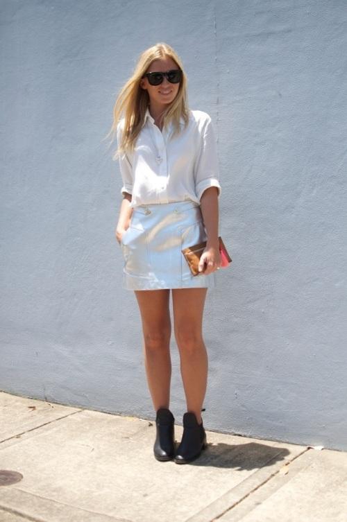 alice liddell summer white and metallic