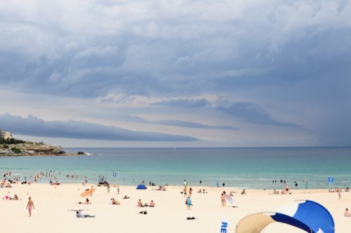 Bondi beach storm blues