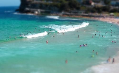 Bronte beach bathers Alice Liddell blog